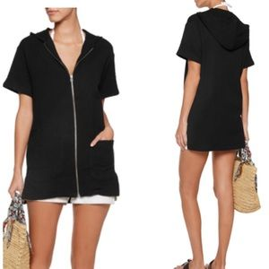 Solid & Striped The Hooded Zip Tunic Dress